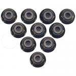 YEAH RACING 2mm Aluminium Flanged Lock Nut For Mini- Z Series
