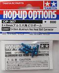 Tamiya 5x8mm Alum. Hex Head Ball Conn. (5) 53907