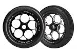 Traxxas Front Tires & wheels assembled & glued (2) TRX6969