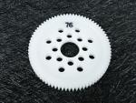 3Racing Delrin 48 Pitch Spur Gear 76T 3RAC-SG4876