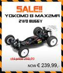 YOKOMO B-MAX2MR 2WD 1/10th Mid Motor