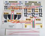 F. 312T3 1978 Decal Set 1/10