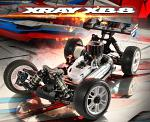 XRAY XB8 2015 Specs - 1/8 Luxury Nitro Off-Road Car 350010
