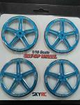 SKYRC 1/10 Set-Up Wheel Alum. Blue 600069-07