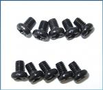 LRP M3x4mm Button Head Screw (10pcs) - S10 Twister 124052