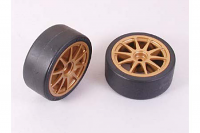 Tamiya Tires Type D & Wheels Fits all Touring Cars 51219