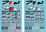 Zen Racing F1 Decal Sheet 2015 Z5903