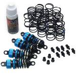 YEAH RACING Damper Set 50mm for Touring Car / M-Chassis DSG-0050BU