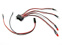 BRP Light Set for Mini Z White-Red brp42618
