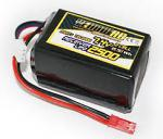 Yellow-RC LiPo Receiver Pack Hump 2500mAh 7.4V YEL2202