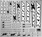 XRAY Decals For Body White 397311