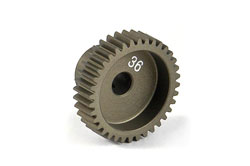 XRAY Narrow Pinion Gear Alu Hard Coated 36T/64 305986