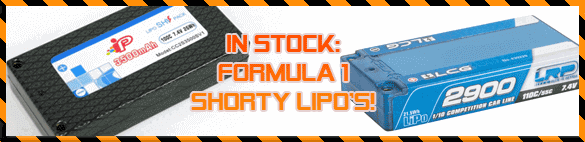 Get your F1 shorty LiPo at The-Border.com!