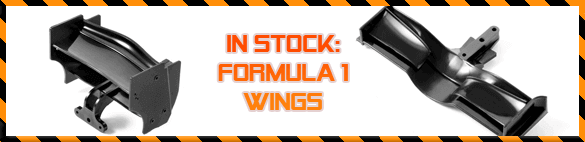 All F1 wings are shipped from stock!