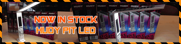 Hudy Pit LED Light with battery in stock